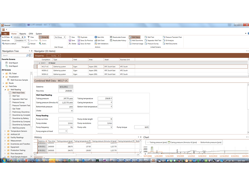 Avocet Data and Results Viewer