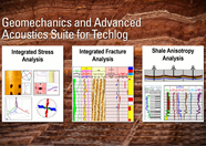 Geomechanics Advanced Acoustics Suite for Techlog