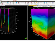 Geophysics Seismic Well Tie and Velocity Modeling
