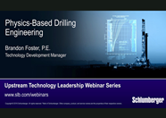 Webinar-Physics Based Drilling Engineering