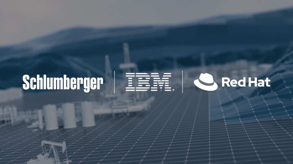 Schlumberger, IBM and Red Hat Announce Major Hybrid Cloud Collaboration for the Energy Industry